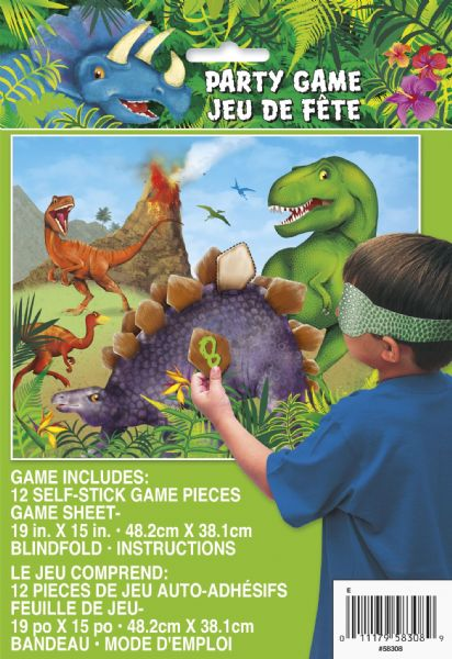 Dinosaur Party Game For 12 Players